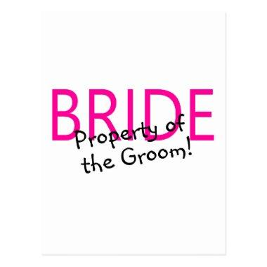 Bride Property Of The Groom Post