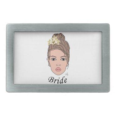 Bride Rectangular Belt Buckle