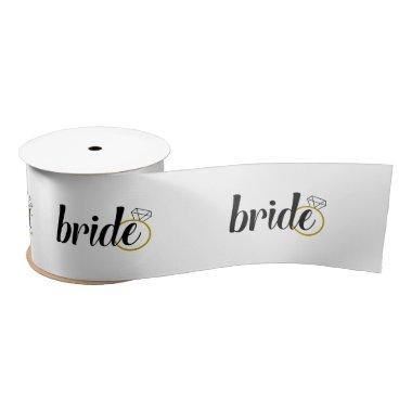 Bride Ribbon - , Engagement, Wedding