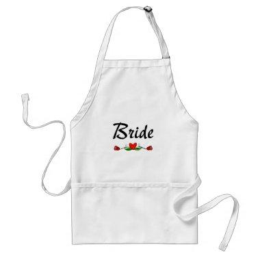 Bride (Roses) Adult Apron