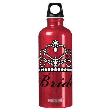 Bride Tiara Water Bottle