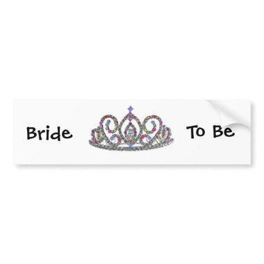 Bride to Be Bumper Sticker