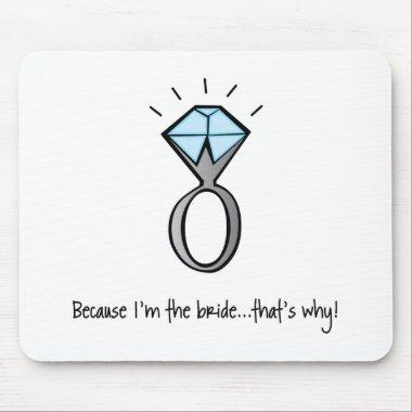 bride to be mouse pad