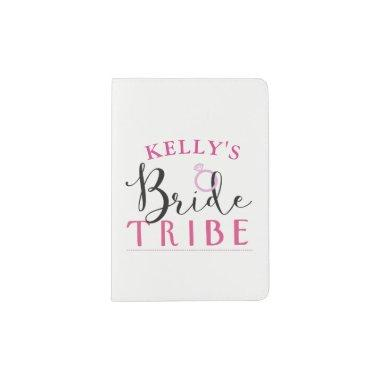Bride Tribe Bridesmaid Matching Passport Covers