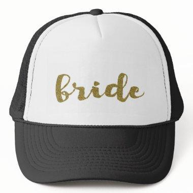Bride Trucker Hat Wedding Bachelorette Hat