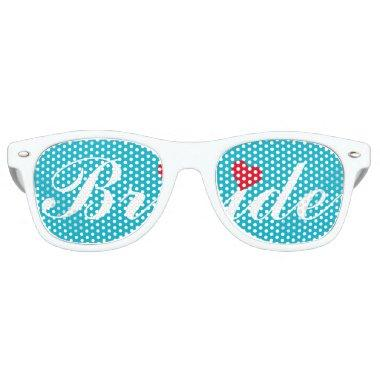 Bride Wedding Bachelorette Party Cool White Shades