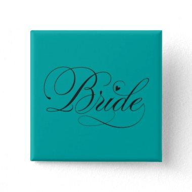 Bride with heart button