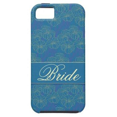 Bride's Blue and Yellow Floral iPhone 5 Vibe Case