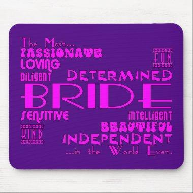 Brides Bridal Showers Wedding Parties : Qualities Mouse Pad