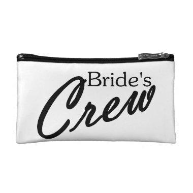 Brides Crew Makeup Bag