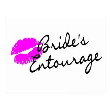 Brides Entourage (Kiss) Post