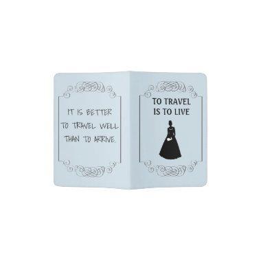 Bride's Passport Cover