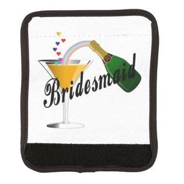 Bridesmaid Champagne Toast Handle Wrap