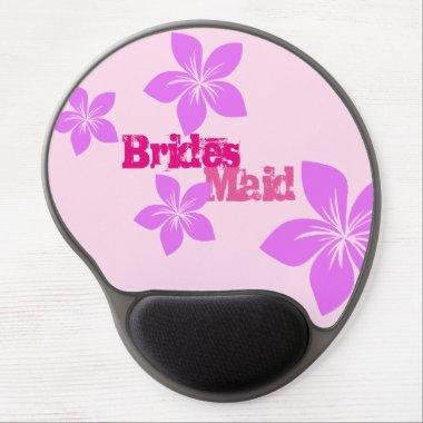 Bridesmaid Gel Mouse Pad