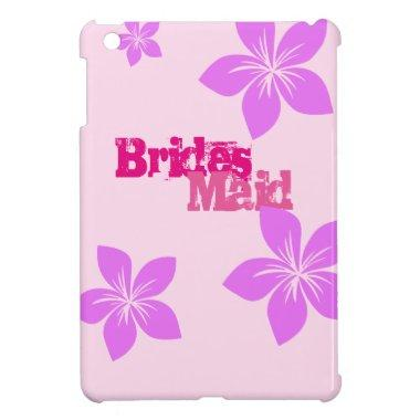 Bridesmaid iPad Mini Cover
