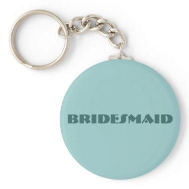 BRIDESMAID KEY CHAIN