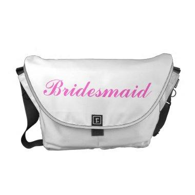 Bridesmaid Rickshaw Messenger Bag