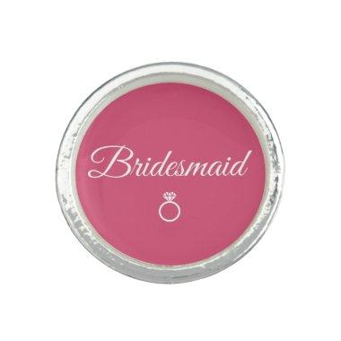 Bridesmaid ring