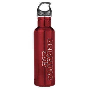 Bridezilla 2013 water bottle