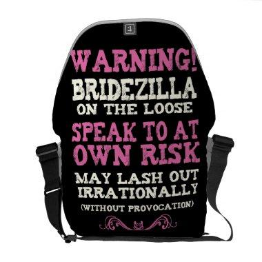 Bridezilla On The Loose Courier Bag