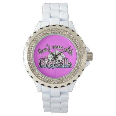 Bridezilla Skull Wristwatch