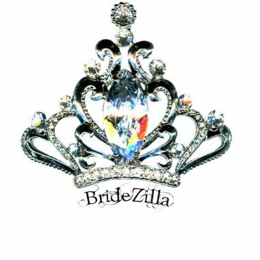 BrideZilla Tiara Sculpture