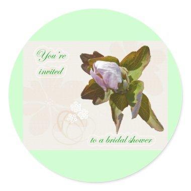 Budding Anemone  Sticker