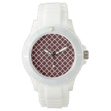 Bulgarian Rose Quatrefoil Wrist Watches