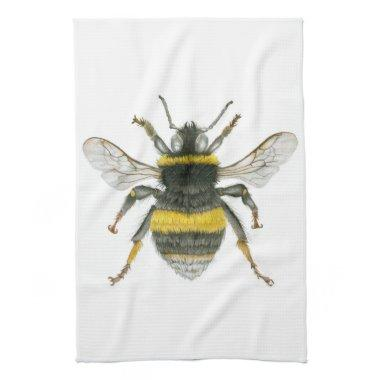 Bumble Bee Kitchen Towel