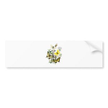 Butterflies of Summer Bumper Sticker