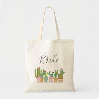 Cactus Mexican Fiesta Bridal Shower Couples Tote Bag