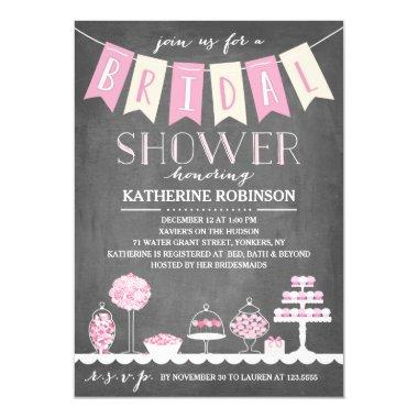 Candy Bar | Bridal Shower Invitations