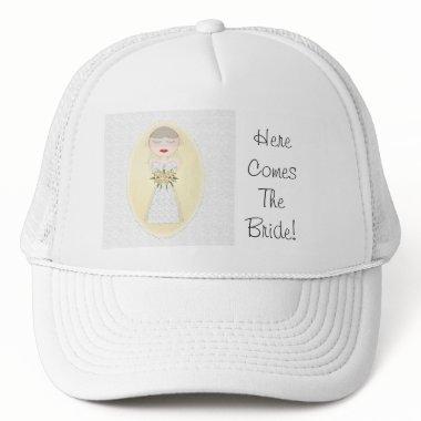 Cap - Wedding Bride pch6