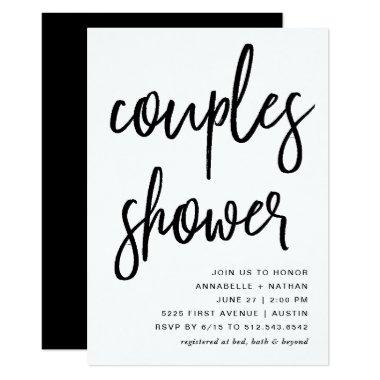 Celebrate | Modern Typography Couples Shower