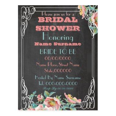 chalkboard  invitation post
