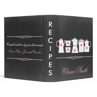 Chalkboard Kitchen  Recipe Folder