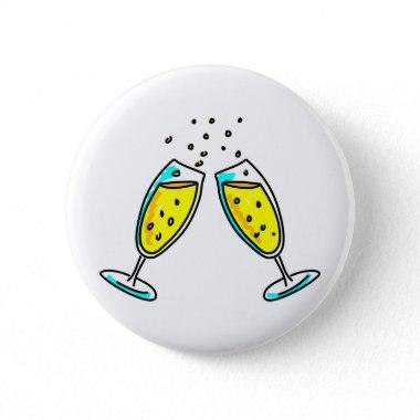 Cheers Pinback Button