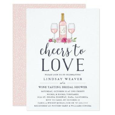 Cheers to Love | Wine Tasting  Invite