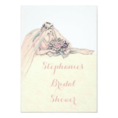 Chic Edwardian Flapper Bride Vintage