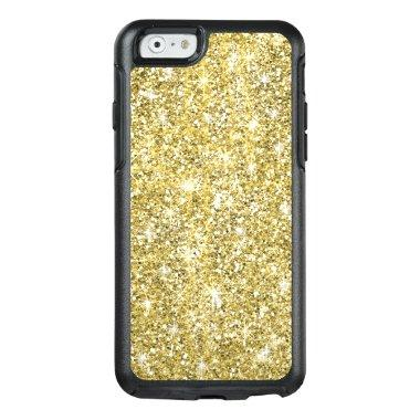 Chic Gold Glitter Sparkles Otterbox iPhone 6 Case
