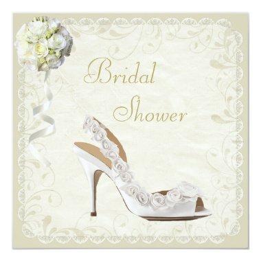 Chic Shoe & Bouquet