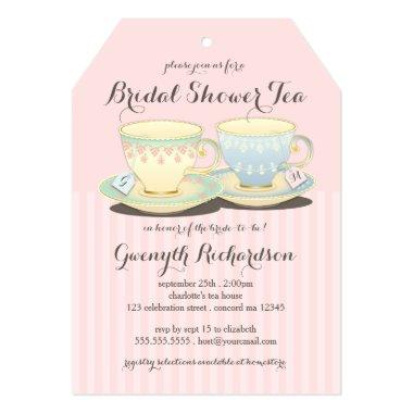 Chic Teacup Duet  Tea Party