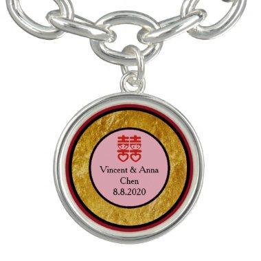 Chinese Engagement Charm Bracelet