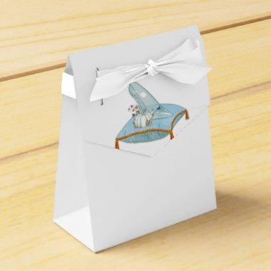 Cinderella Glass Slipper Elegant Bridal Shower Favor Box