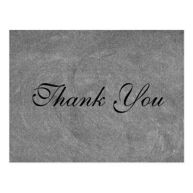 Classic Black Chalkboard | Thank you