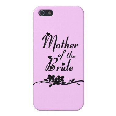 Classic Mother of the Bride Case For iPhone SE/5/5s