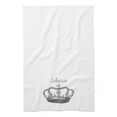Classic Queen's Crown Towel
