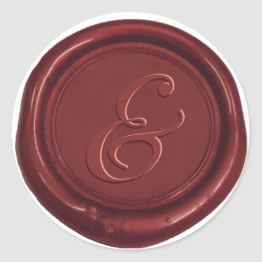 Classic Wedding Ampersand Wax Seal