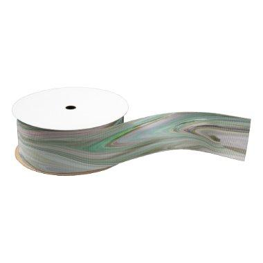 Classy Marbled Ribbon in pink, mauve and green