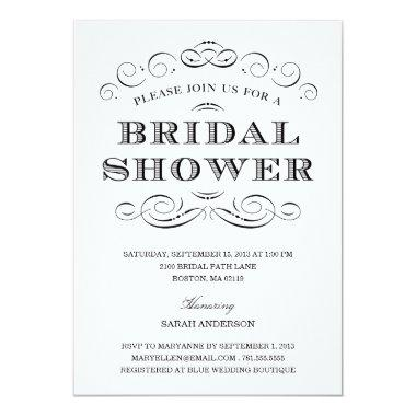 CLASSY SHOWER | BRIDAL SHOWER Invitations